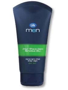 Life men תחליב לחות לאחר הגילוח