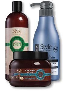 סטייל מגוון מוצרי טיפוח שיער*
