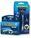 Life men חדש! קליבר 5 מכשיר גילוח עם ראש מסתובב / סכיני גילוח אריזת רביעיה