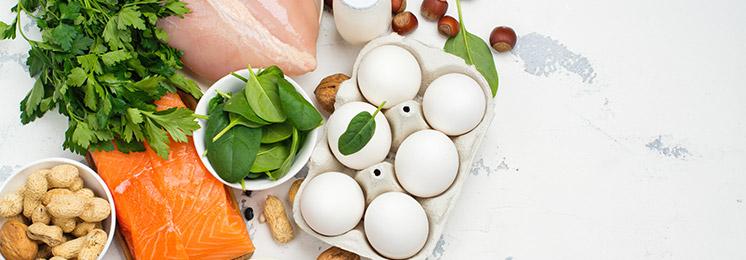 קולגן נוכל למצוא בעיקר במוזנות מן החי, דוגמת ביצים, דגים, בקר, עוף, מרקי עצמות וג'לטין מן החי.