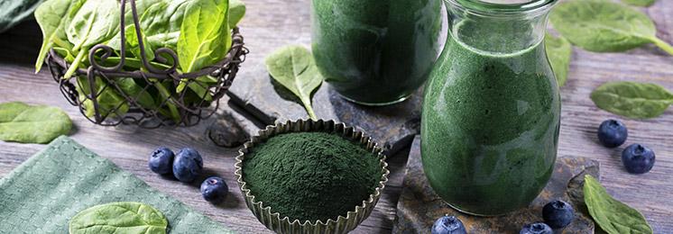 הספירולינה משמשת הן כתוסף תזונה והן כמזון פונקציונלי וכיום ניתן להשיג אותה בקפסולות,