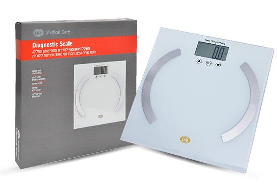 משקל דיאגנוסטי לא מודד רק את המסה הכללית של הגוף, אלא מעניק מידע לגביי אחוזי שומן לצד מסת שריר.