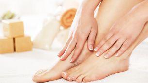 כפות רגליים של אישה
