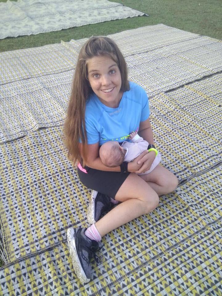 נעמה צובל והתינוק שלה