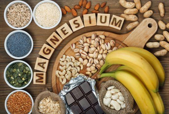 מזון המכיל מגנזיום