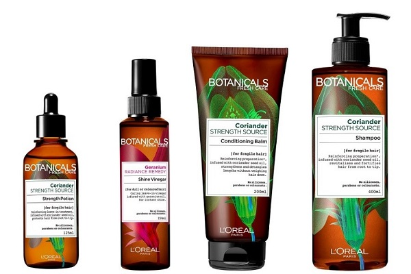 סדרת Botanicals Fresh Care של לוריאל פריז