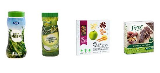 Free חטיפים טבעיים להקלה על עיכול, חטיפים עשירים בסיבים של וולנס, סיבים תזונתיים מסיסים של בנפייבר ושל life