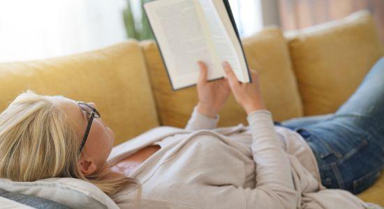 לעתים כאב הראש מתגבר בזמן קריאה.