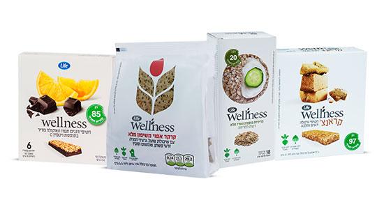 מומלץ לצייד את הילדים גם במשהו קטן לנשנש במהלך היום. חטיפי הבריאות של wellness מכילים רכיבי תזונה איכותיים ומגיעים במגוון רחב של טעמים