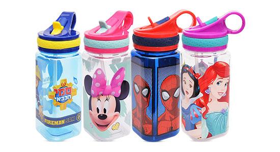 הכירו את הסדרה החדשה של בקבוקי טריטן לשתייה, עם תקן BPA FREE ובמגוון עיצובים שהקטנים אוהבים.