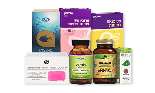 במקביל לטיפול תרופתי ותזונתי ממליצה קטרון גם על נטילה קבועה של פרוביוטיקה.