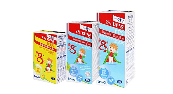 תכשיר חדש לילדים להורדת חום -אייבו מביית לייף