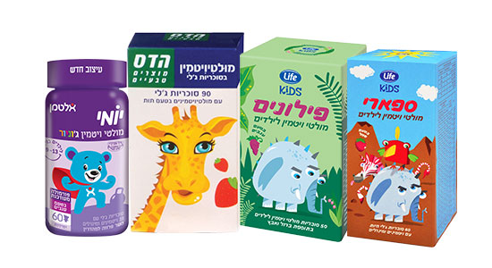 לדברי אלנקוה דהן, כאשר מדובר בילד בריא בדרך כלל, נוכל להיעזר בתוסף כולל של מולטי ויטמין לילדים.