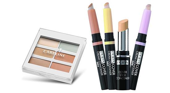 פופה, cover cream concealer |  קרליין קרליין CONCEAL & CORRECT ערכת קונסילרים
