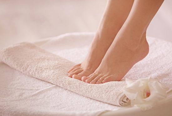 רגע לפני החורף, לטפח את כפות הרגליים