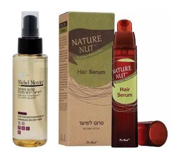 סרום לשיער סדרת האגוזים של נייטשר נאט| סרום משקם לשיער פגום של מישל מרסייה ולייף, מחיר