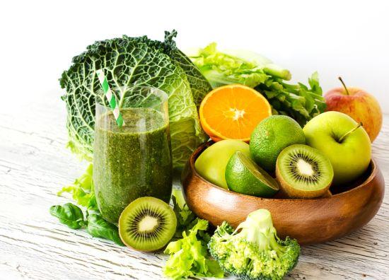 קייל, קיווי ברוקולי, תפוח ותפוז, מקור מעולה לוויטמין C