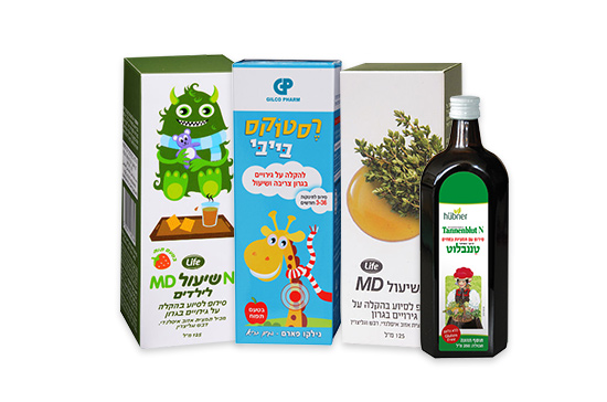 תערובות צמחים ארומטיים מסיעיים גם הם לטיפול בשיעול טורדני, גם בילדים.
