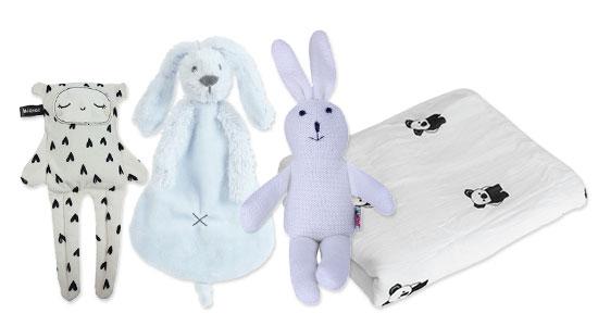 אביזר שינה- שמיכה או בובה שהופכים את שעת ההשכבה לחוויה נעימה.