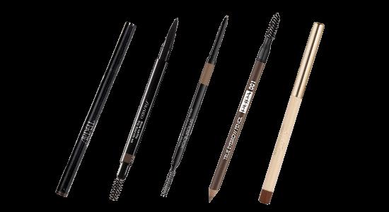 עפרון לגבות: פופה, שיסיידו, ארדל, ג'ייד, סמאשבוקס