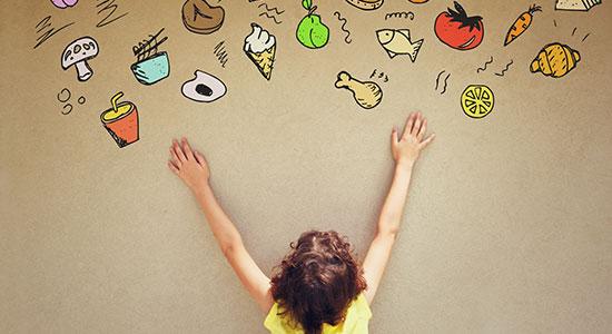 מה ילדים צריכים לאכול?