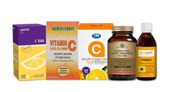 מומלץ גם להגדיל צריכה של ויטמין C ורכיבים מזינים במזון או כתוסף