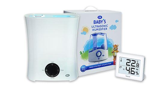ניתן להיעזר במכשיר אדים ביתי, שיסייע למתן את היובש שנגרם מהמזגן או התנור