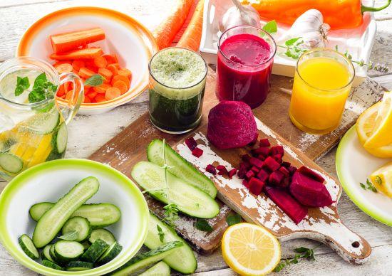 מגוון ירקות, מיצוי ירקות. צבעוני, טעים ונלחם בדלקת