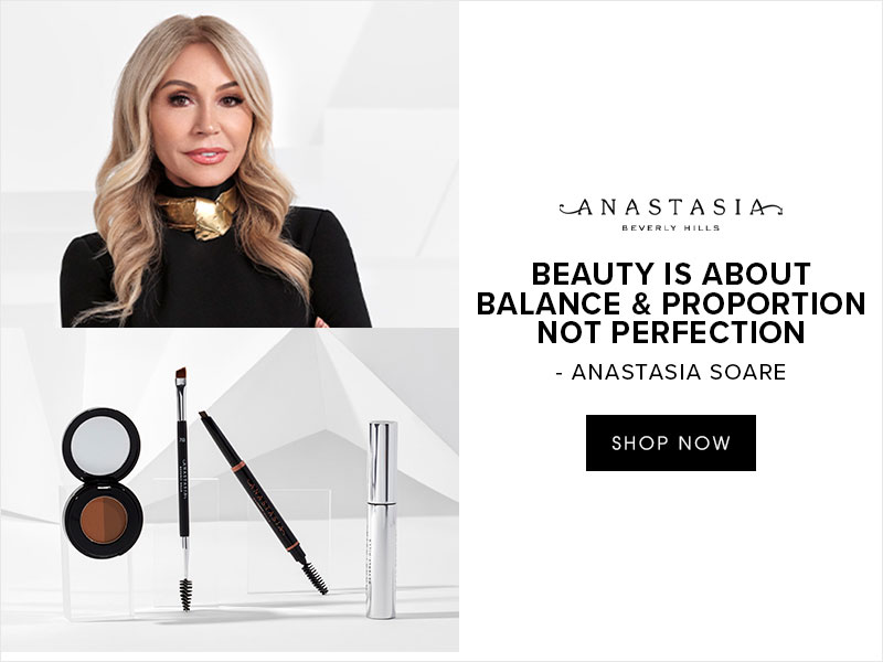 ANASTASIA BERVERLY HILLS - BEAUTY IS ABOUT BALANCE & PROPORTION NOT PERFECTION - ANASTASIA SOARE - SHOP NOW