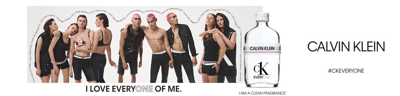 Calvin Klein - #CKEVERYONE - I LOVE EVERYONE OF ME.