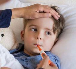 איך מטפלים במחלות חום של ילדים