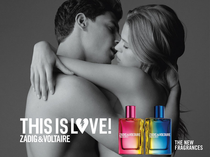THIS IS LOVE ZADIG&VOLTAIRE THE NEW FRAGRANCE
