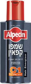 אלפסין שמפו קפאין C1 לגבר