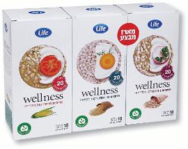 Life Wellness פריכיות דקות למריחה