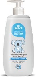 Life BABY'S תחליב רחצה מועשר בלחות לעור רגיש במיוחד