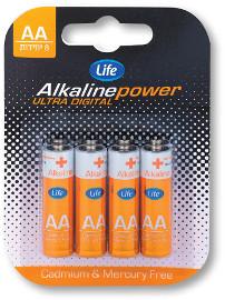 Life סוללות AA/AAA