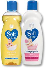 סופטקר אל סבון עדין/שמפו אל דמע לתינוק