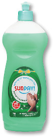 SUNDAY נוזל חזק במיוחד לניקוי כלים 24% חומר פעיל