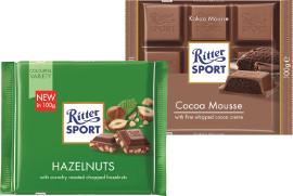 ריטר שוקולד במגוון טעמים