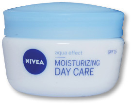 NIVEA AQUA EFFECT MOISTURIZING DAY CARE קרם לחות