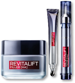 L'OREAL PARIS REVITALIFT FILLER סדרת טיפוח