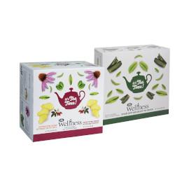 Life Wellness תערובת צמחים לחליטה/תה ירוק
