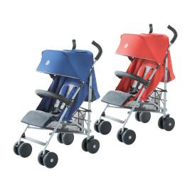 פולקסווגן טיולון לתינוק דגם קומפקט כחול/אדום