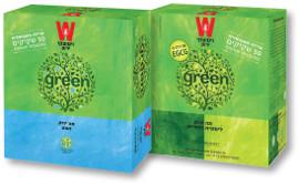 ויסוצקי תה ירוק לימונית ולואיזה/נענע