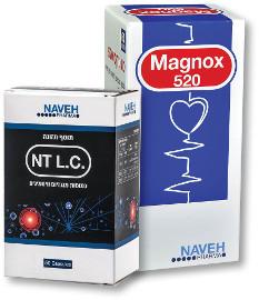 מגנוקס תוסף מגנזיום מרוכז 520/NT LC מגנזיום למניעת התכווצויות