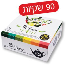 Life Wellness תה וחליטה ב-6 טעמים