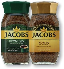 ג'ייקובס קפה נמס קרונונג ירוק/גולד