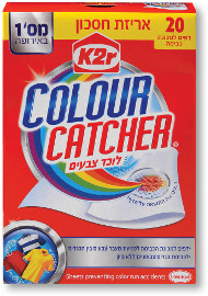 קולור קאצ'ר דפים לוכדי צבע למכונת כביסה