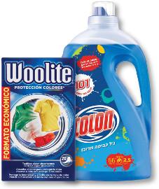 וולייט דפים למניעת העברת צבע/קולון ג'ל כביסה 2.5 ליטר