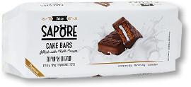 SAPORE עוגות אישיות בציפוי בטעם שוקולד ובמילוי קרם חלב/קקאו אריזת עשיריה